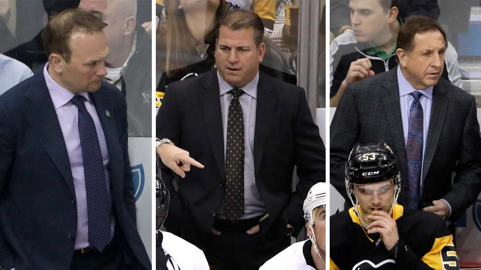 Pittsburgh Penguins Assistant Coaches, fired
