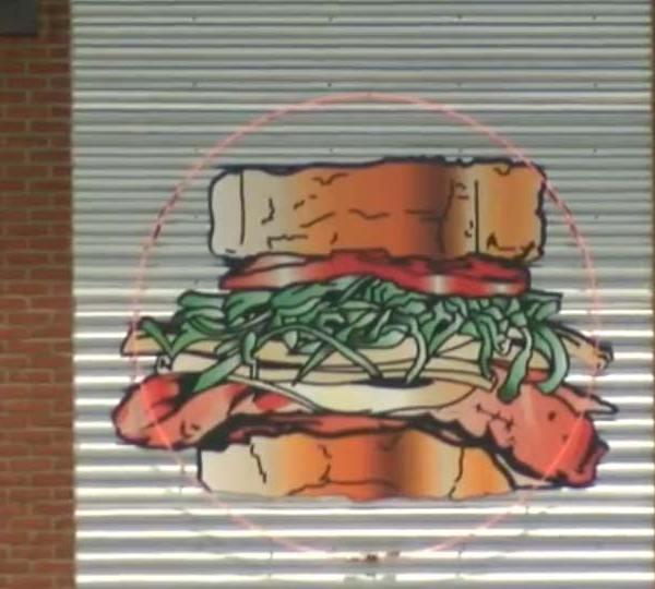 Primanti Bros. logo displayed outside restaurant