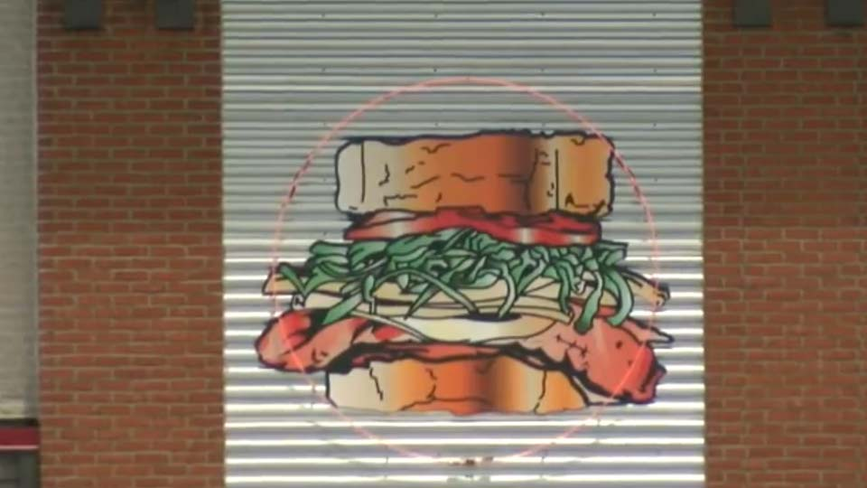 Primanti Bros. logo displayed outside restaurant