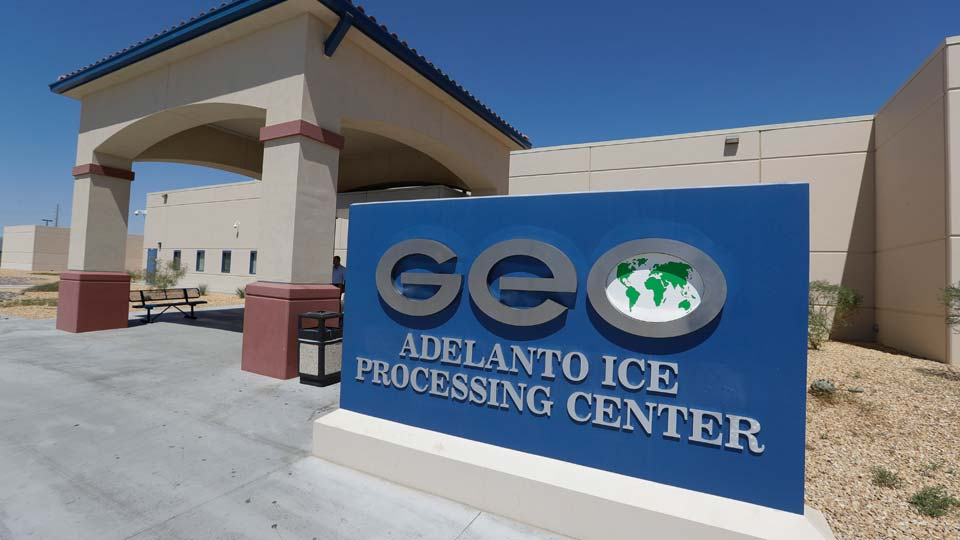 Adelanto U.S. Immigration and Enforcement Processing Center