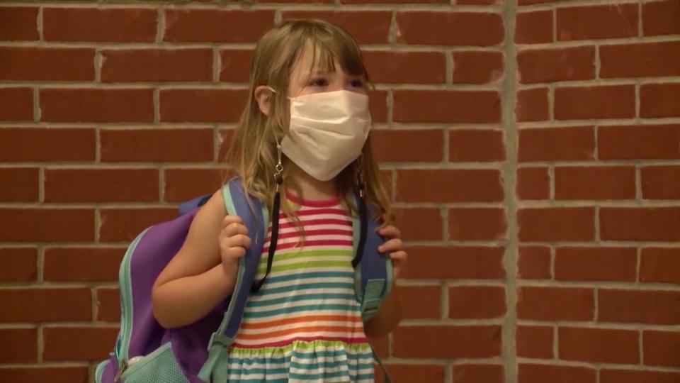 School, masks, coronavirus