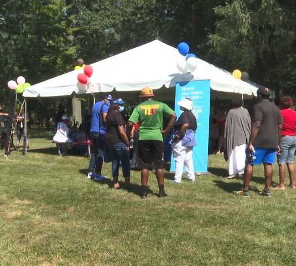 Wick Park event in Youngstown