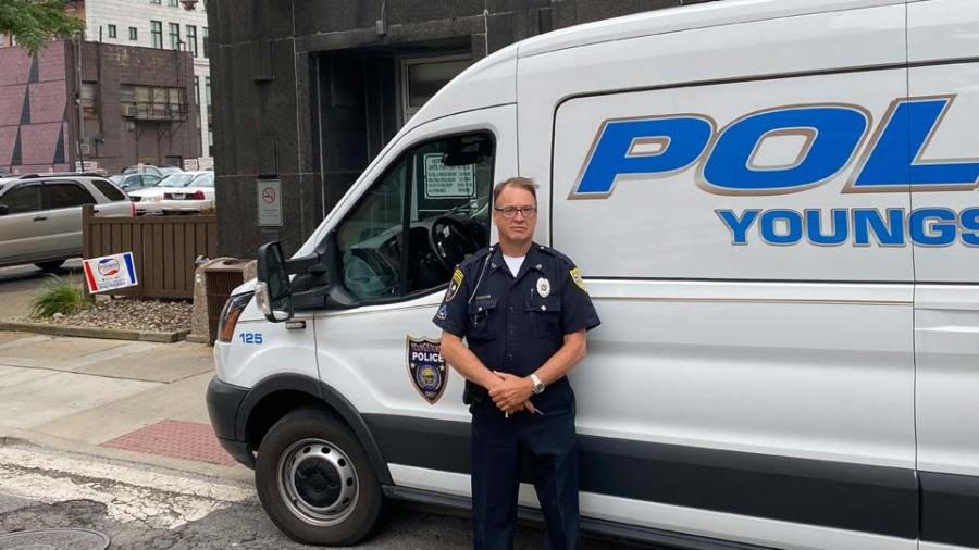 Youngstown police officer Dave Wilson