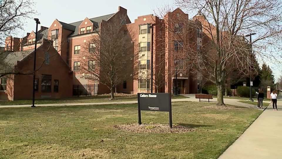 Students adjust to new normal on YSU campus.