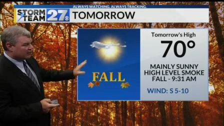 Fall will start dry and cool