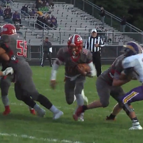 LaBrae topped Champion 27-13 in week four of the high school football season Friday night.