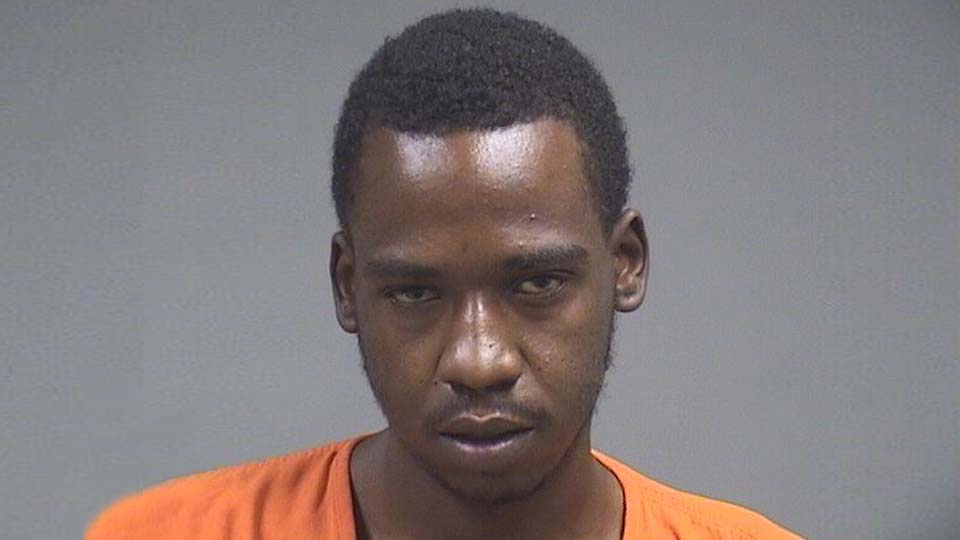 Andrew Williams, arrested on weapons charges in Youngstown.