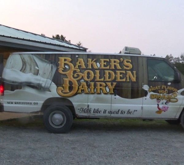 Baker's Golden Dairy in New Waterford