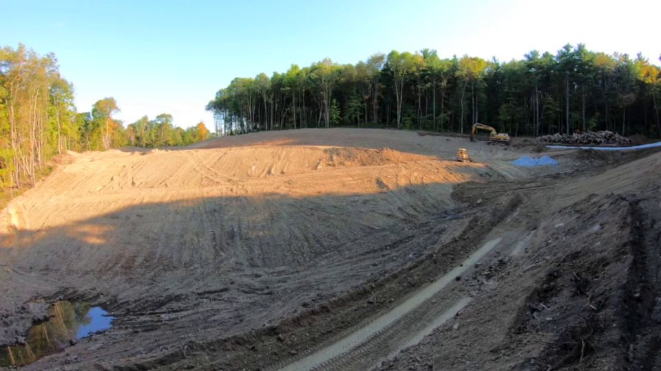 A major construction project that started last year at the Beaver Creek State Park Campground is getting closer to being done.