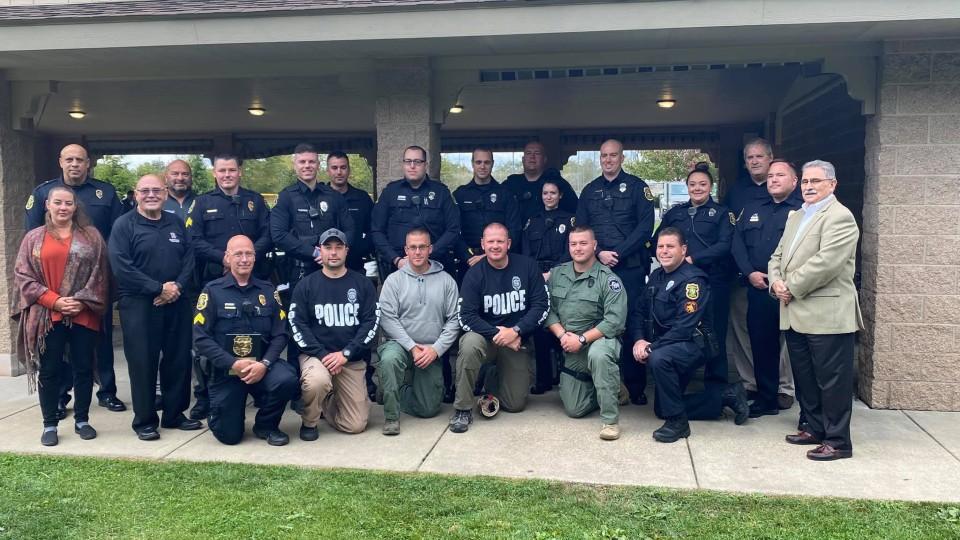 Boardman officers recognized