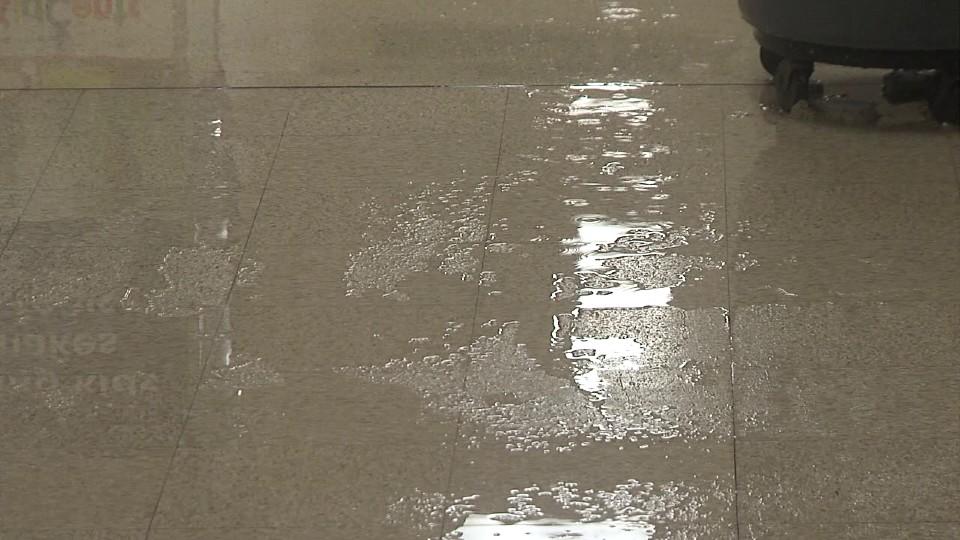 Campbell City Hall flooding