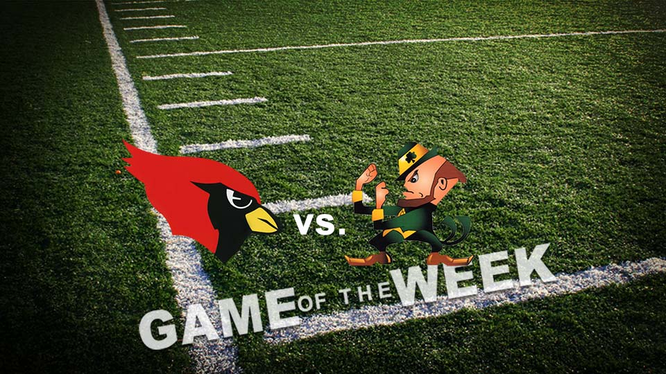 Cardinal Mooney Cardinals vs. Ursuline Irish, High School Football Game of the Week