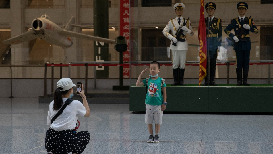 Chinese military museum, Beijing