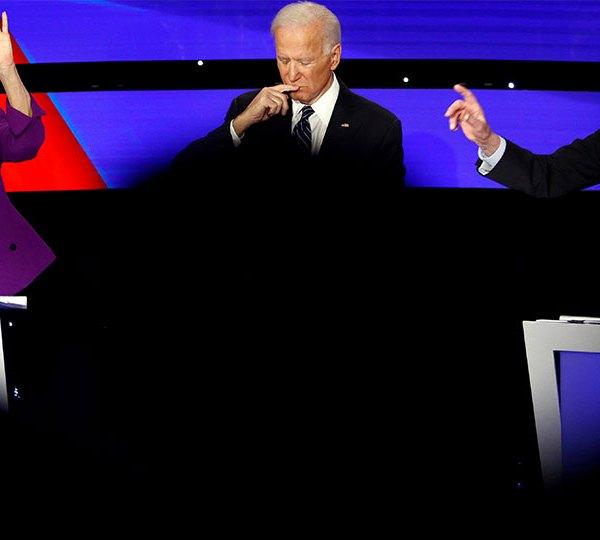 Democratic debate, Warren, Biden, Sanders