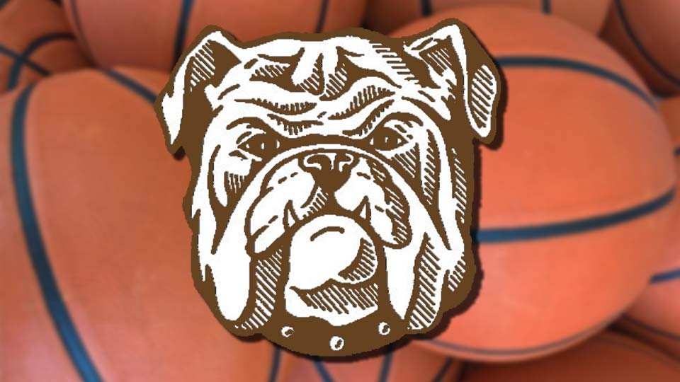 East Palestine Bulldogs basketball graphic