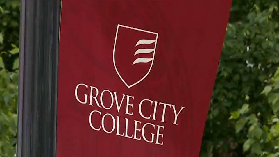Grove City College, Campus Sign