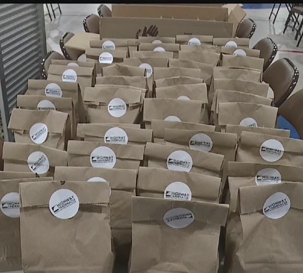 Highway Tabernacle in Austintown food giveaway