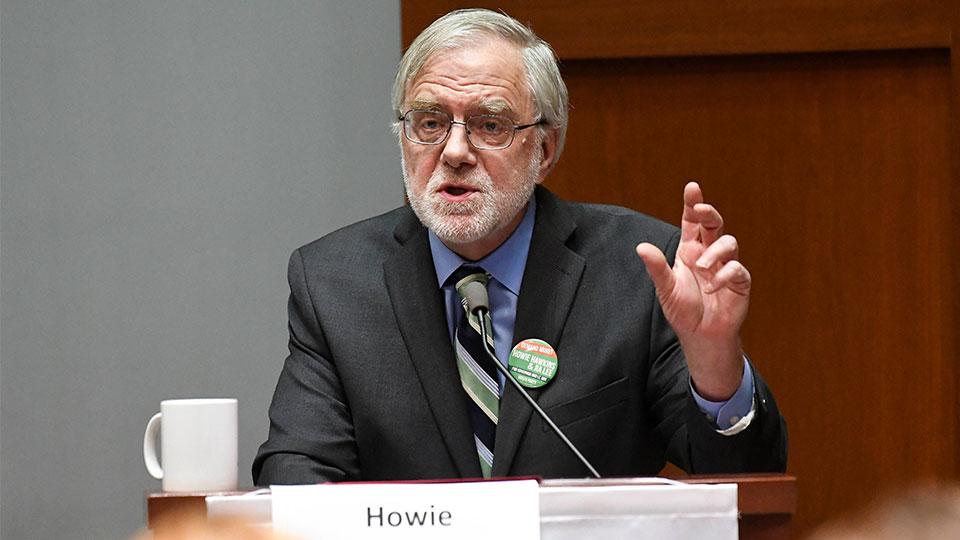 Howie Hawkins, Green Party nominee