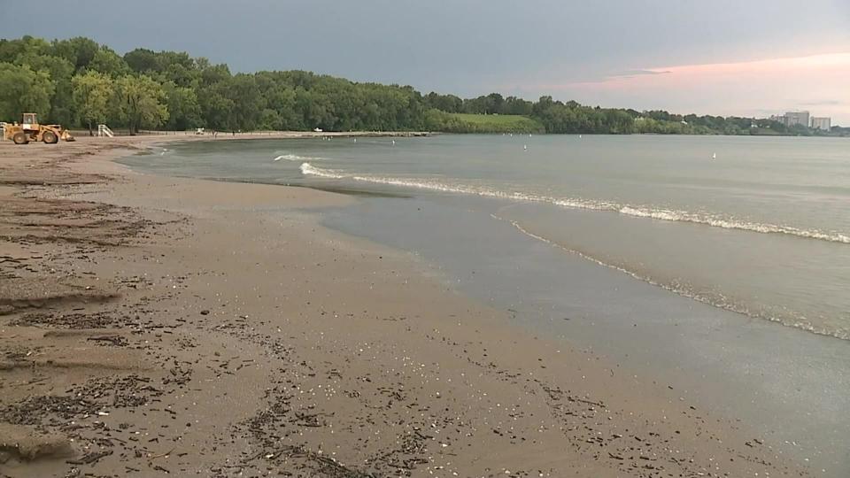 Lake Erie, Edgewater Beach, Cleveland