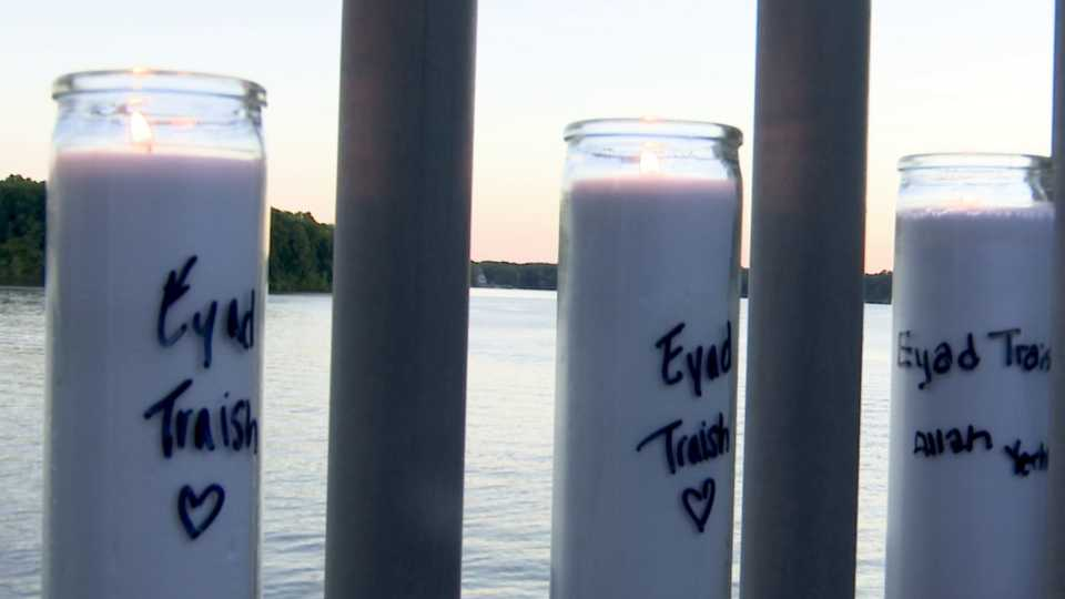 Lake Milton Eyad Traish vigil