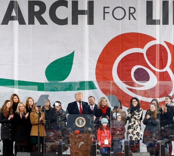 March For Life rally, Washington