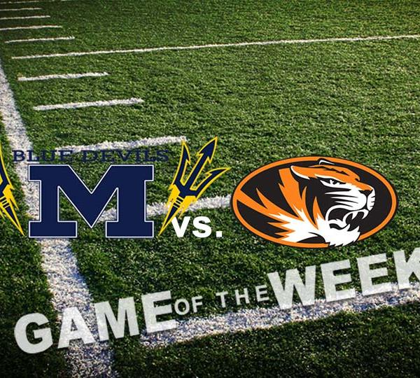 McDonald Blue Devils vs. Springfield Tigers, High School Football Game of the Week