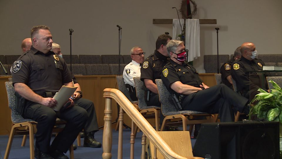 The third in a series of community police forums was held Tuesday at the New Bethel Baptist Church on Youngstown's south side.
