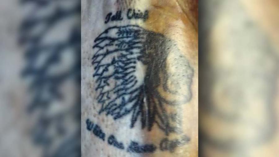 Sharon tattoo, Tribal Head
