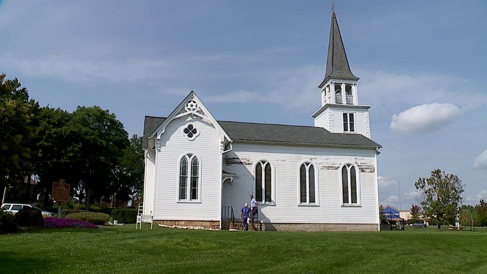 Nothing says Boardman like the St. James Meeting House. The old church sits in the front of Boardman Park, a perfect spot for everyone driving along Route 224 to see.
