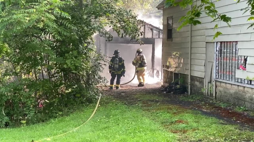 Tampa Avenue, Youngstown garage fire