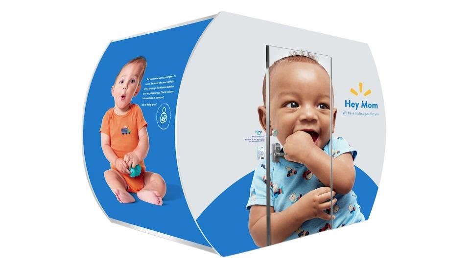 Walmart breastfeeding pods