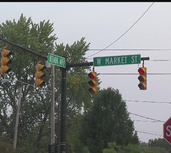 Warren stoplight intersection