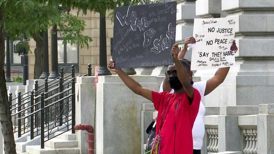 Youngstown TRUTH group rally against racial injustice