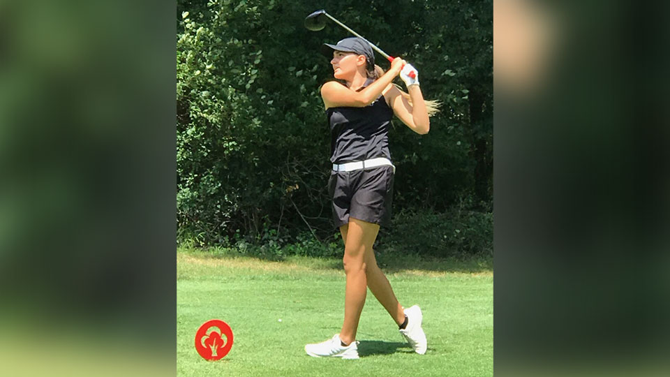Cardinal Mooney High School Junior, Alyssa Rapp, competed in the Division II District Tournament at Sable Creek Golf Course