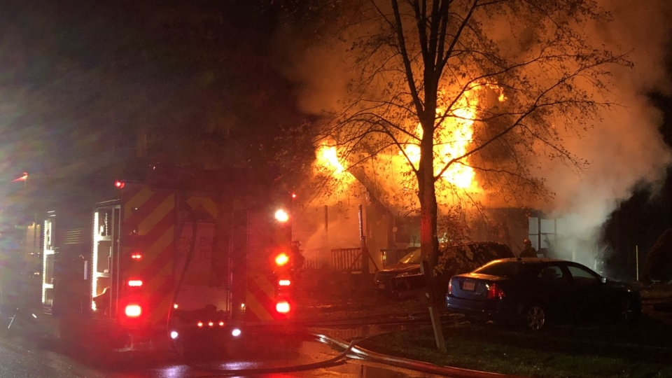 Austintown house fire, Crum Road
