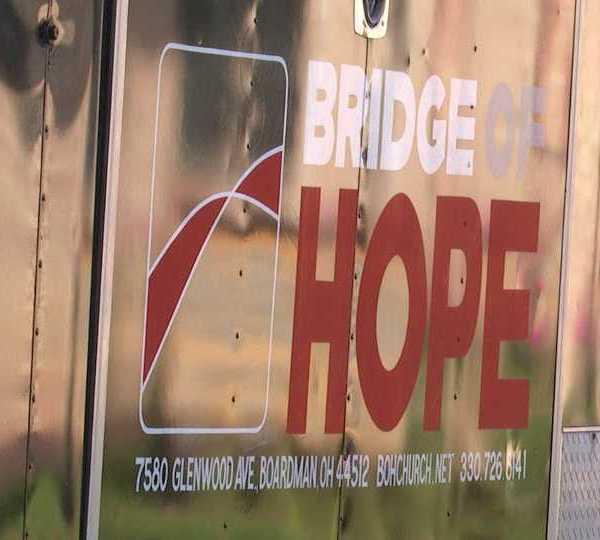 Boardman Bridge of Hope Church food giveaway