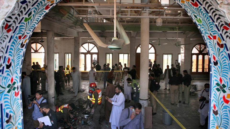 Bomb, Pakistan seminary