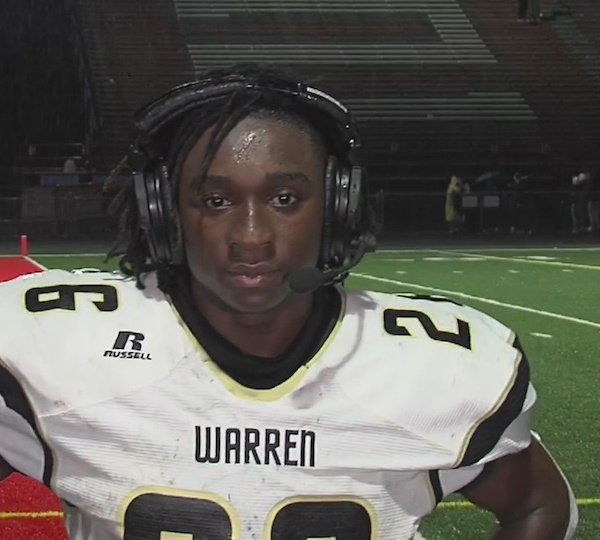 Brysen Powell, Warren Harding - Player of the Game