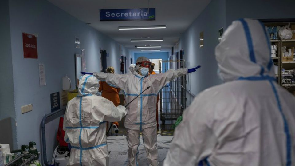The World Health Organization has announced a new daily record high in coronavirus cases confirmed worldwide, with more than 350, 000 infections reported to the U.N. health agency on Friday.
