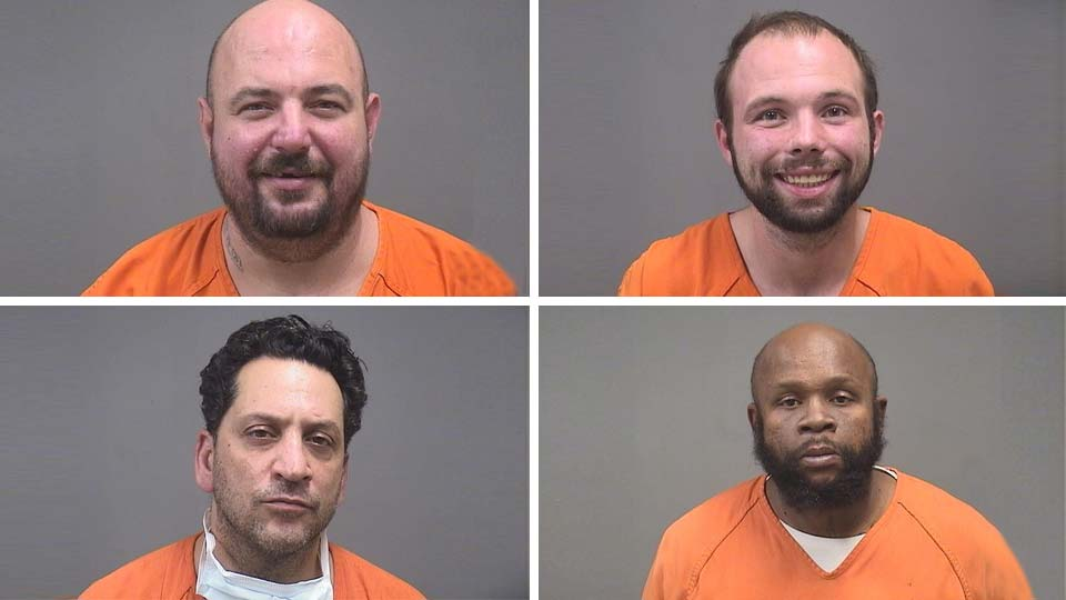 Daniel Daviduk, Sr., Daniel Daviduk, Jr., Christopher Troisi, Jeffery Rox, Youngstown, Ohio
