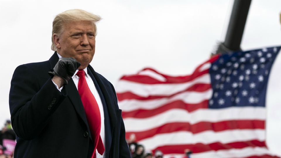 "President Donald Trump dangled a promise to get a weary, fearful nation ""back to normal"" on Friday as he looked to campaign past the political damage of the devastating pandemic. It was a tantalizingly rosy pitch in sharp contrast to Democratic rival Joe Biden, who pledged to level with America about tough days still ahead after Tuesday's election."