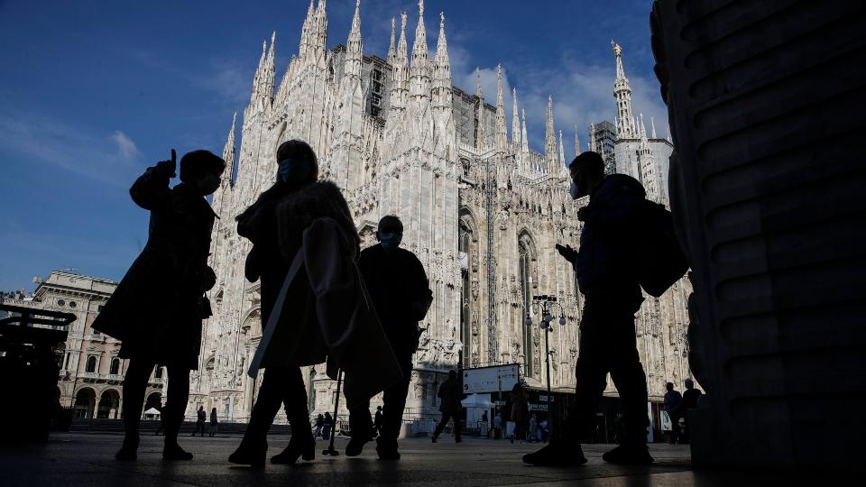 Milan, Italy, coronavirus, Europe
