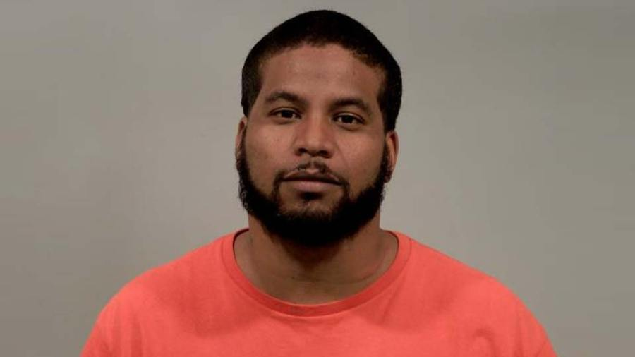 Geovanny Pastrana, arrested following a police chase in Cortland