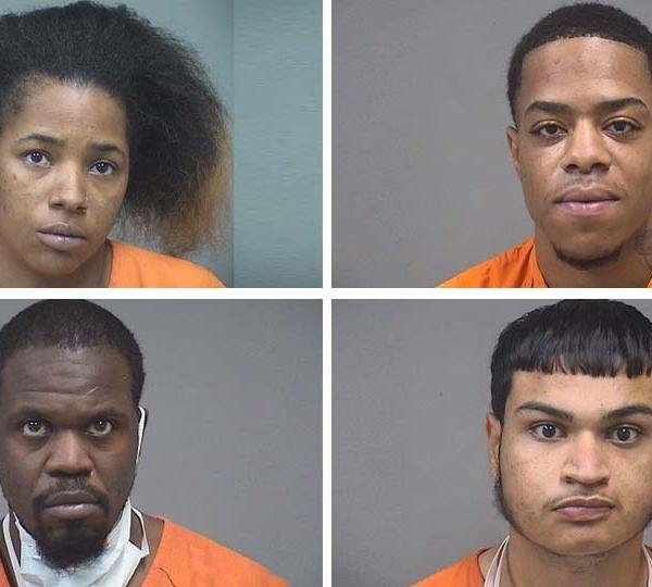 Deanna Cobb, Pharryn Dixon, Jeremy Betts, Mikklow Delgado, illegal weapons possession