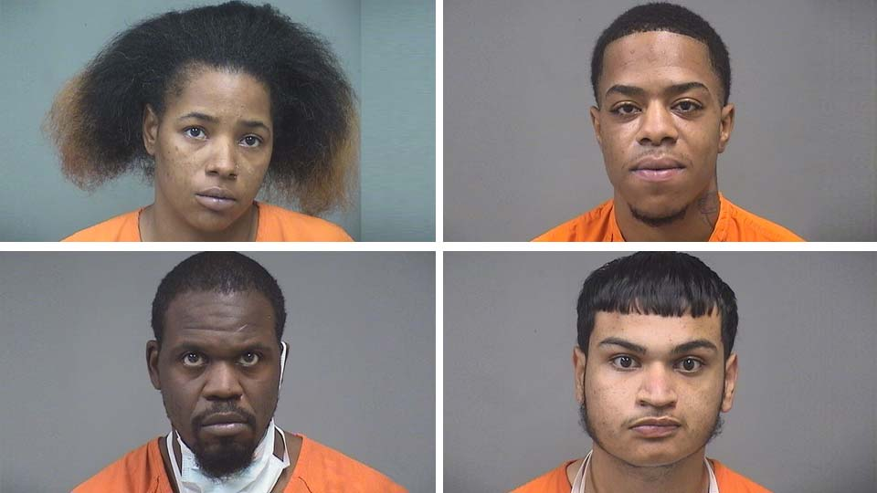 Deanna Cobb, Pharryn Dixon, Jeremy Betts, Mikklow Delgado, illegal weapons possession