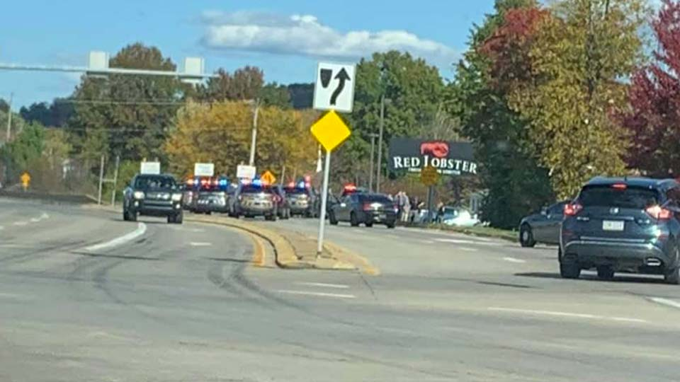 Hermitage Police Chase