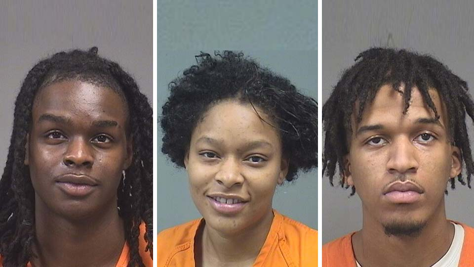 Jerome Cheeves, Syncere McCree, Dasan Dupree, all arrested on gun charges in Youngstown.
