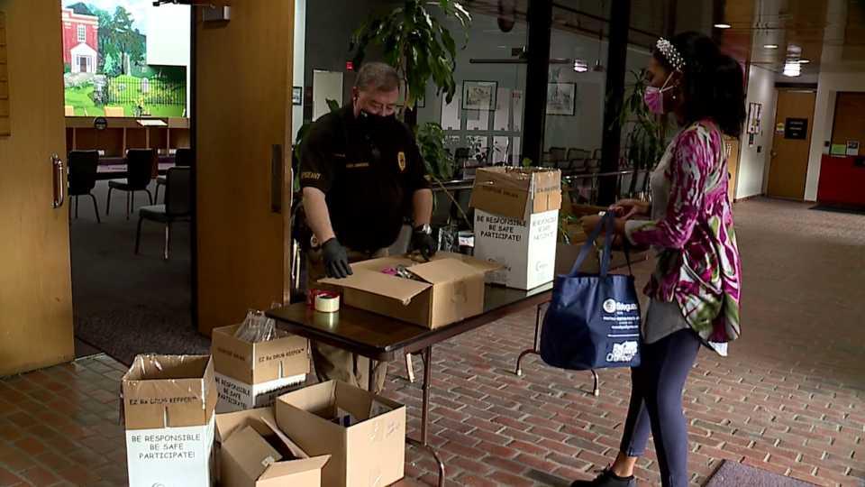 Liberty Police drug take back day