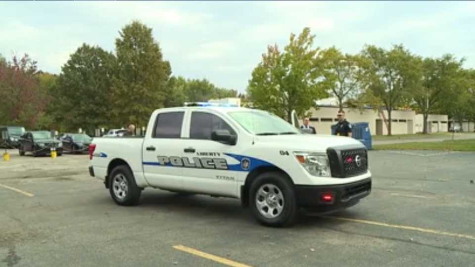 This is the first time that the dealership in Hermitage has been able to donate a vehicle to a local police department.