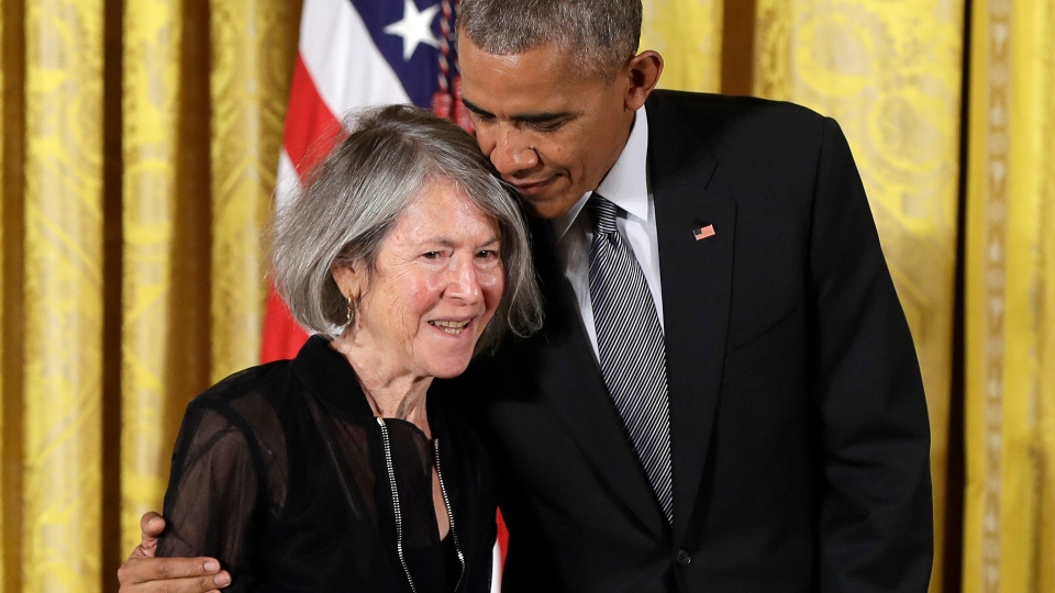 Louise Gluck, Nobel prize